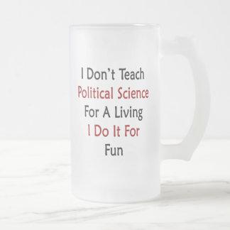 I Don't Teach Political Science For A Living I Do Coffee Mug
