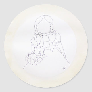 I don't think we're in Kansas anymore, Toto Classic Round Sticker