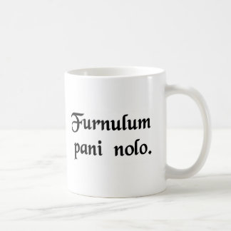 I don't want a toaster. coffee mug