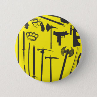 I don't want to hurt you but... 6 cm round badge