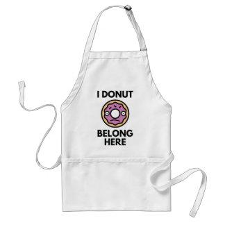 I Donut Belong Here Standard Apron