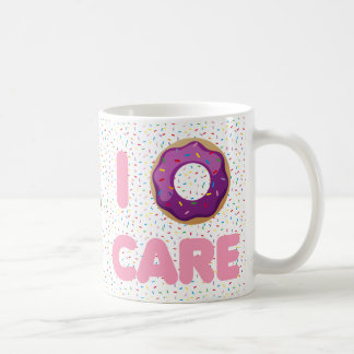 I Donut Care Coffee Mug