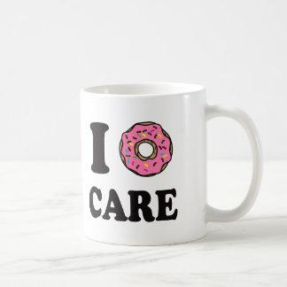 I Donut Care funny Coffee Mug