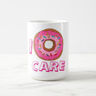 I donut care pun coffee mug