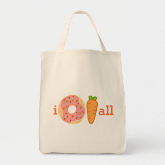 I donut carrot all, I do not care at all tote bag