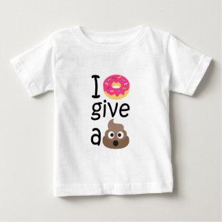 I donut give a poop emoji baby T-Shirt