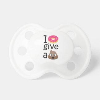 I donut give a poop emoji dummy