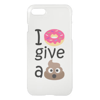 I donut give a poop emoji iPhone 7 case