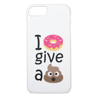 I donut give a poop emoji iPhone 8/7 case
