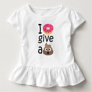 I donut give a poop emoji toddler T-Shirt