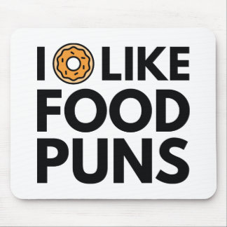 I Donut Like Food Puns Mouse Pad
