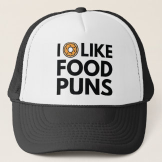 I Donut Like Food Puns Trucker Hat