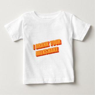I Drank Your Milkshake Baby T-Shirt
