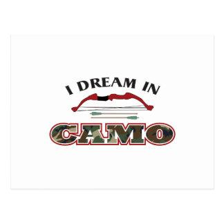 I DREAM IN CAMO POSTCARD