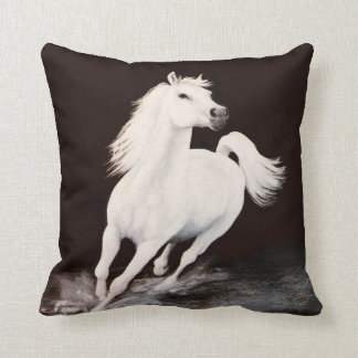 I Dreamed Him White Cushion