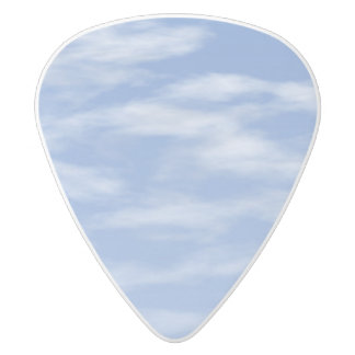 I dreamed I became the sky White Delrin Guitar Pick