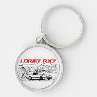 I Drift RX7 Key chain