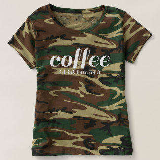 I drink lattes of coffee T-Shirt