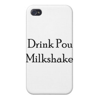 I Drink Pour Milk Shake iPhone 4/4S Cases