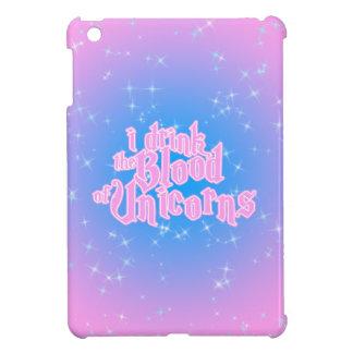 I Drink The Blood Of Unicorns Frappe Funny iPad Mini Cases