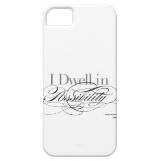 I Dwell in Possibility - Emily Dickinson Quote Case For The iPhone 5