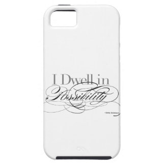 I Dwell in Possibility - Emily Dickinson Quote iPhone 5 Cover