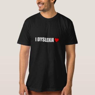 I Dyslexia Love Heart T-Shirt