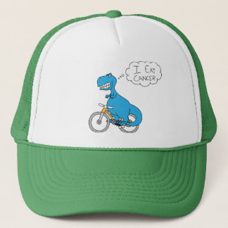 I eat cancer trucker hat