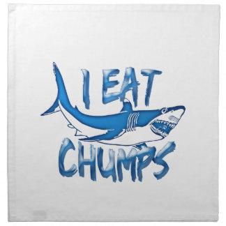 I Eat chumps Napkin