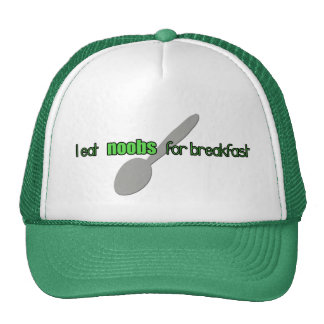I EAT N00bs for Breakfast Hat