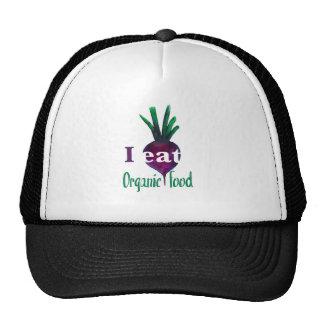 I Eat Organic Food Cap