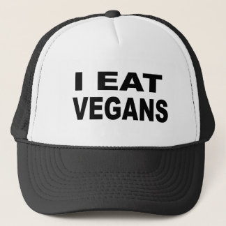 I Eat Vegans Trucker Hat