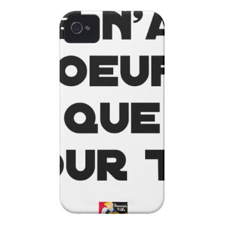 I EGG AI ONLY FOR YOU - Word games - Fran iPhone 4 Case-Mate Case