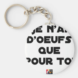 I EGG AI ONLY FOR YOU - Word games - Fran Key Ring