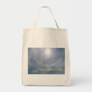 I Expect Miracles Tote Bag