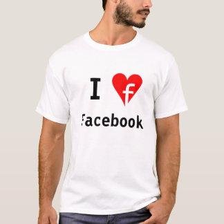 """I ♥ Facebook"" Shirt"