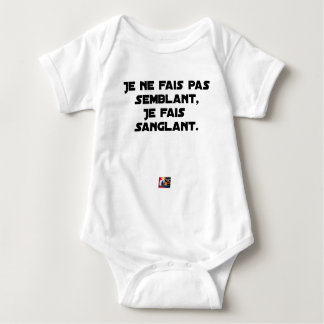 I FAIS NOT SEEMING, I FAIS STRAPPING BABY BODYSUIT