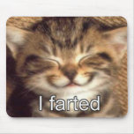 I farted kitten mousepad