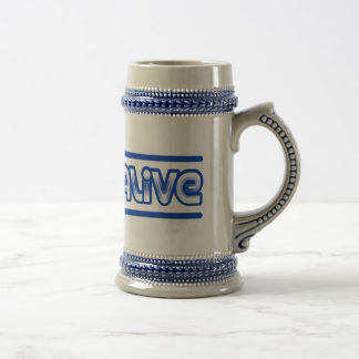 I Feel Alive Beer Stein