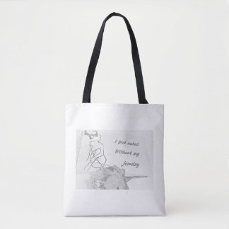 I feel naked without my jewelry tote bag