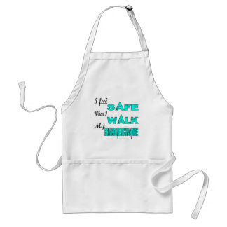 I Feel Safe With My Briard merchandise Standard Apron