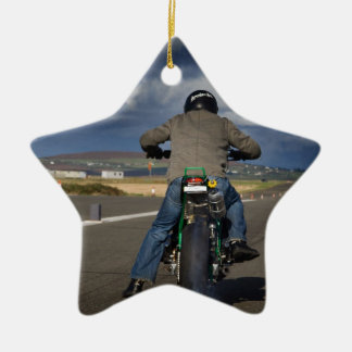 I feel the need for speed ceramic star decoration