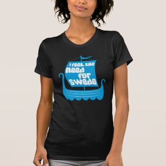 I Feel the Need for Swede Ladies Destroyed T-Shirt