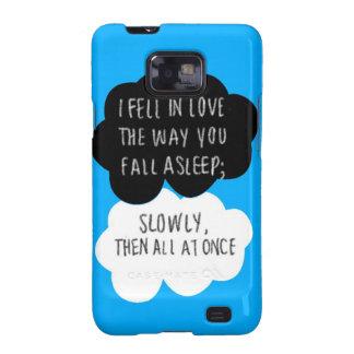 I Fell In Love Samsung Galaxy S2 Case