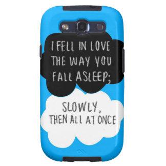 I Fell In Love Samsung Galaxy S3 Galaxy SIII Case
