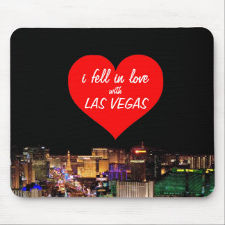 i fell in love with Las Vegas Mousepad