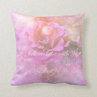 I Fell In Love With You Custom Pillow Throw Cushions