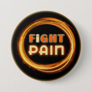 I Fight Pain 7.5 Cm Round Badge