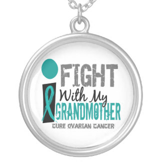 I Fight With My Grandmother Ovarian Cancer Pendants