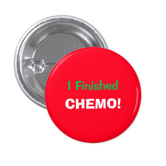 I Finished Chemo! Hooray! 4Lucas 3 Cm Round Badge